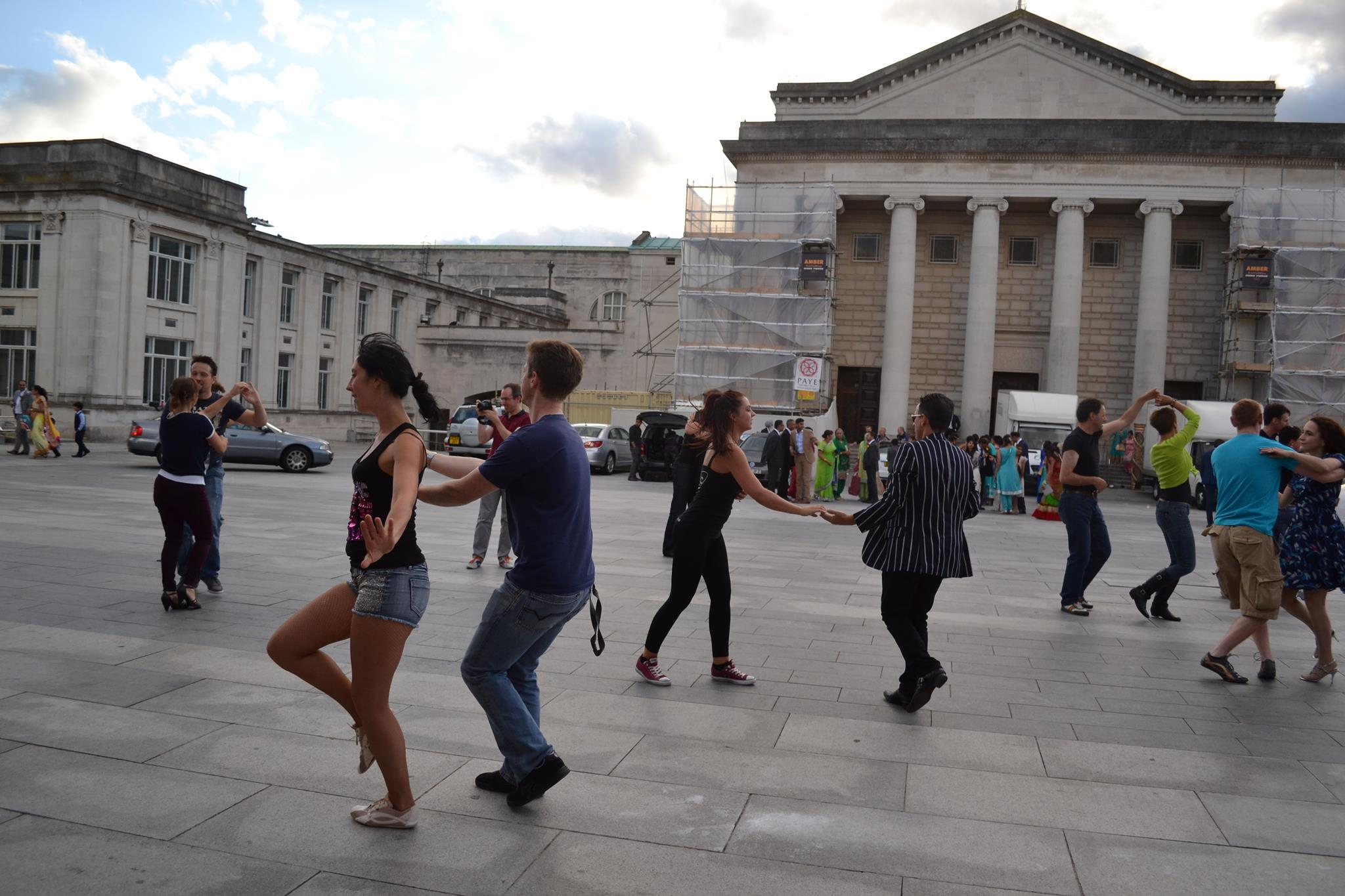 TLC Al'Fresco Dance demo