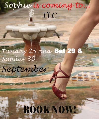 Sophie Tango workshops Sept 2018