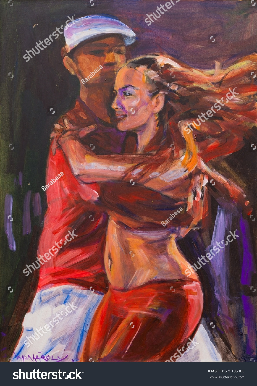 stock-photo-artistic-canvas-painting-of-salsa-dancing-couple-570135400