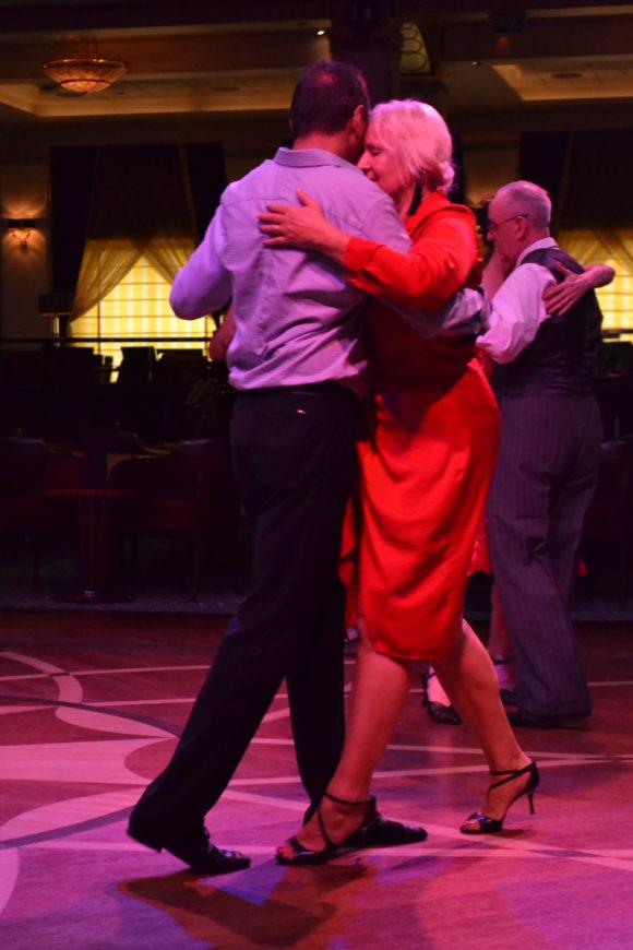 TLC Tango on QM2