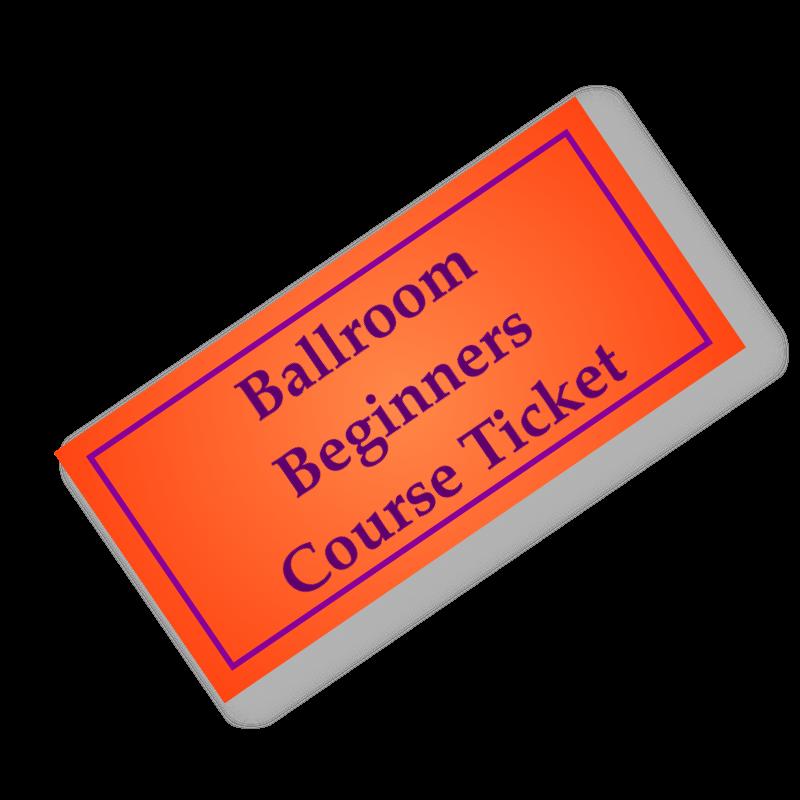 Ballroom Beginners ticket