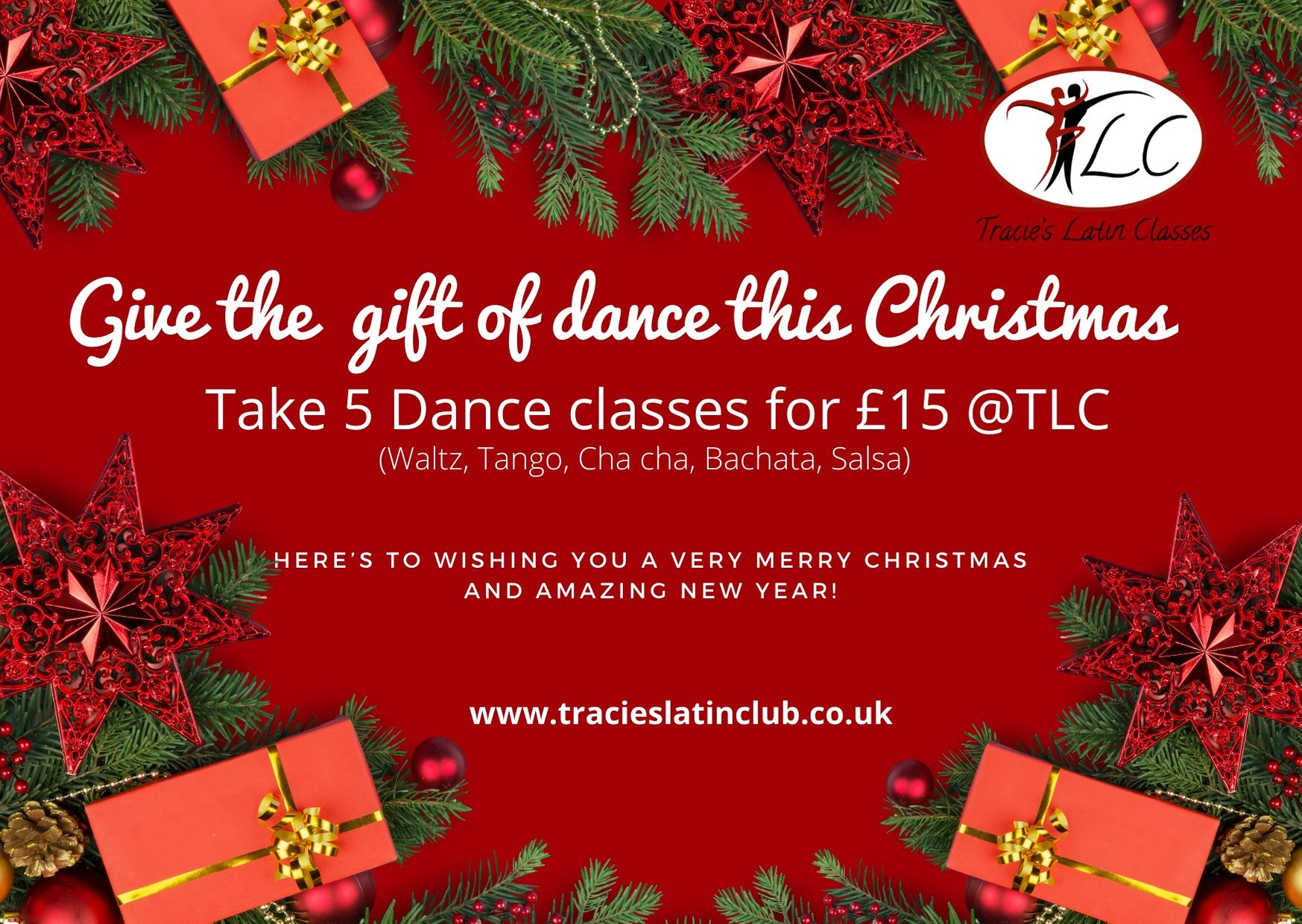 Christmas take 5 dance pass promo picture