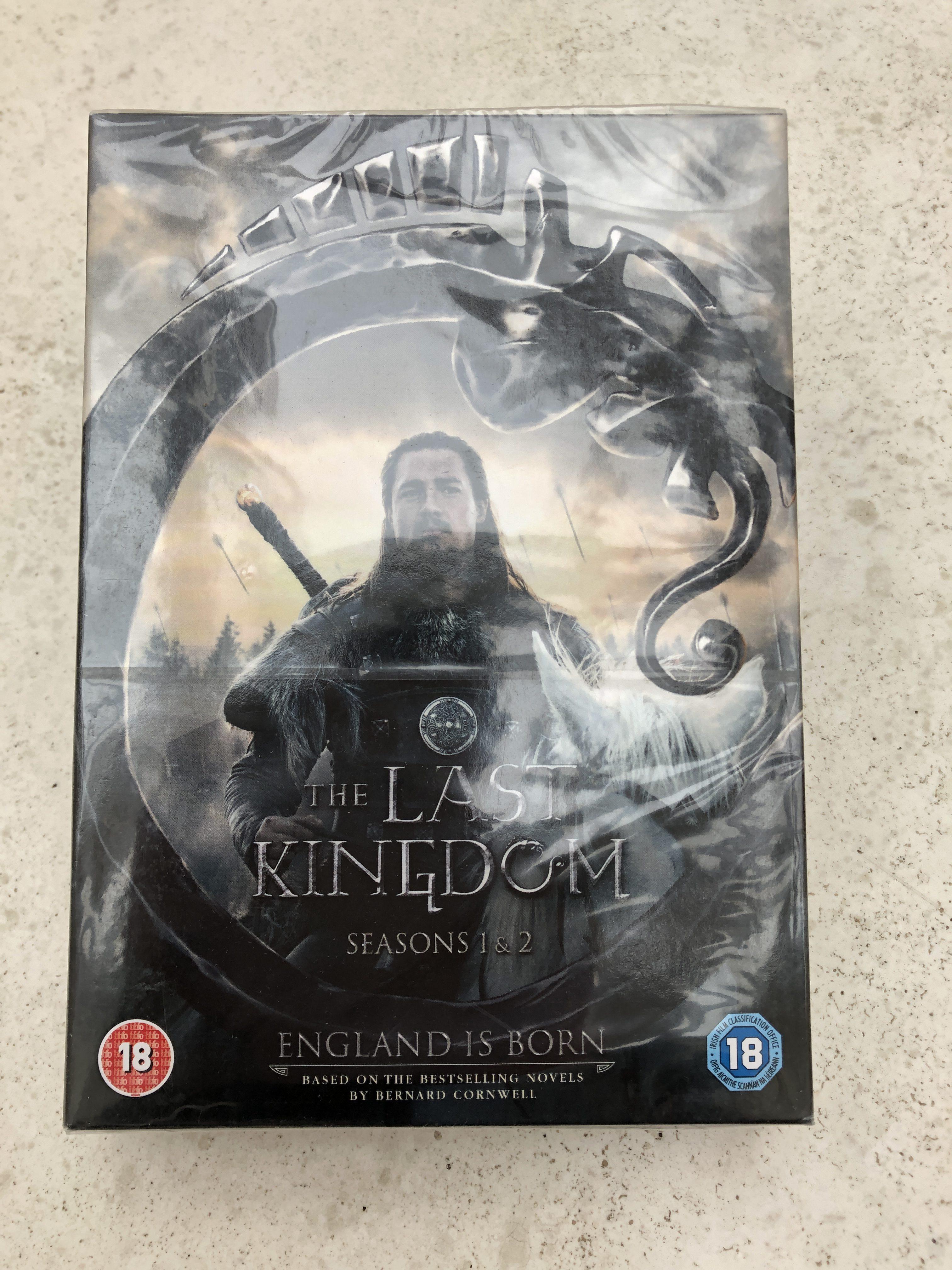 Last Kingdom DVD front
