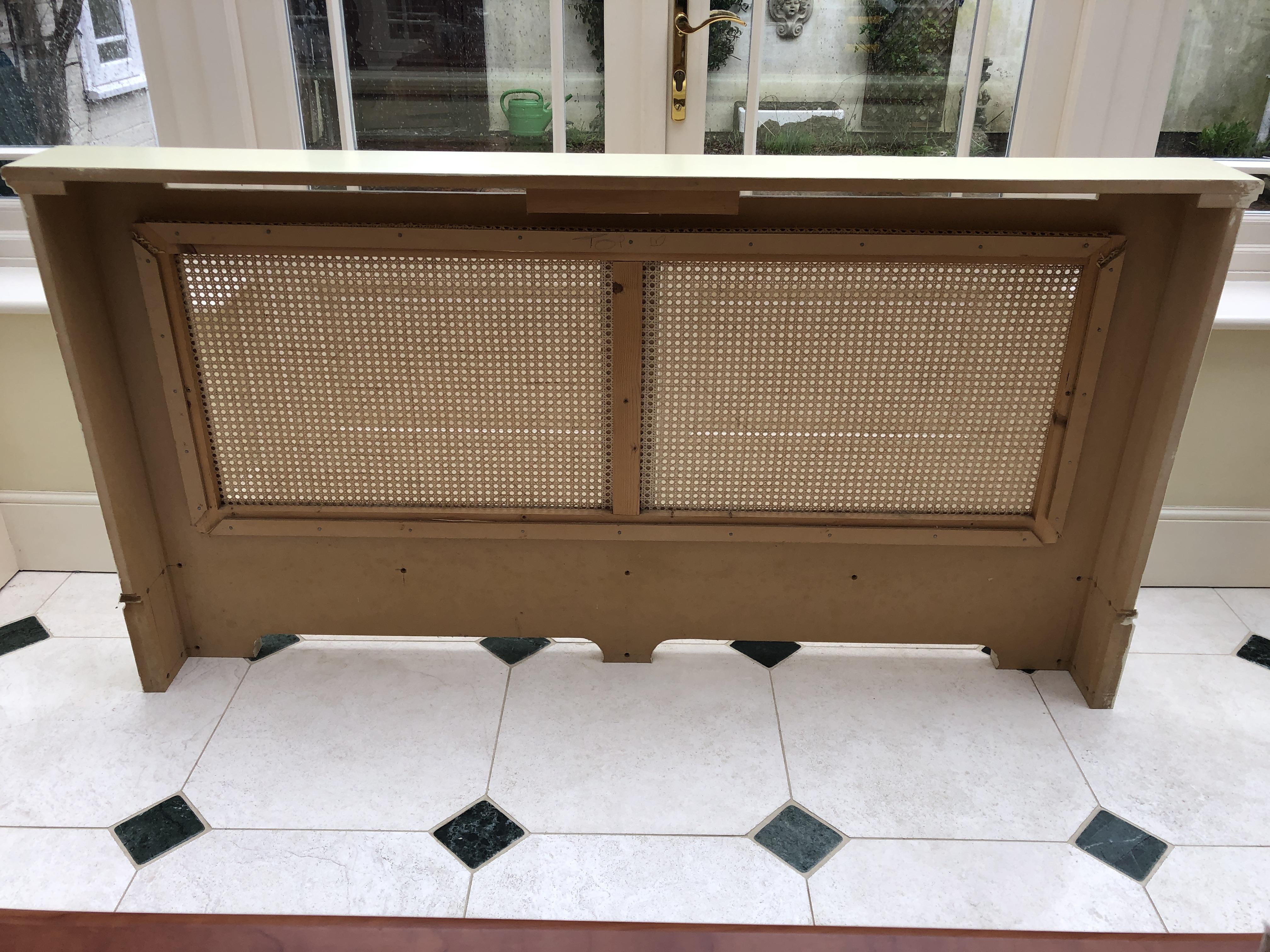 radiator cover back
