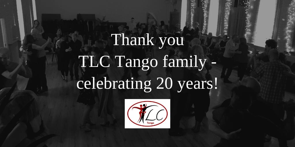 Thank you Tango Family celebrating 20 years