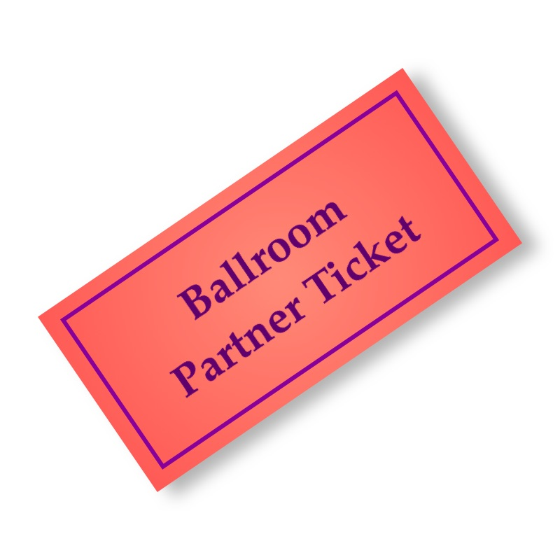 Ballroom Partner Ticket