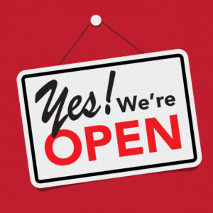 It's official – we are OPEN 17 May!