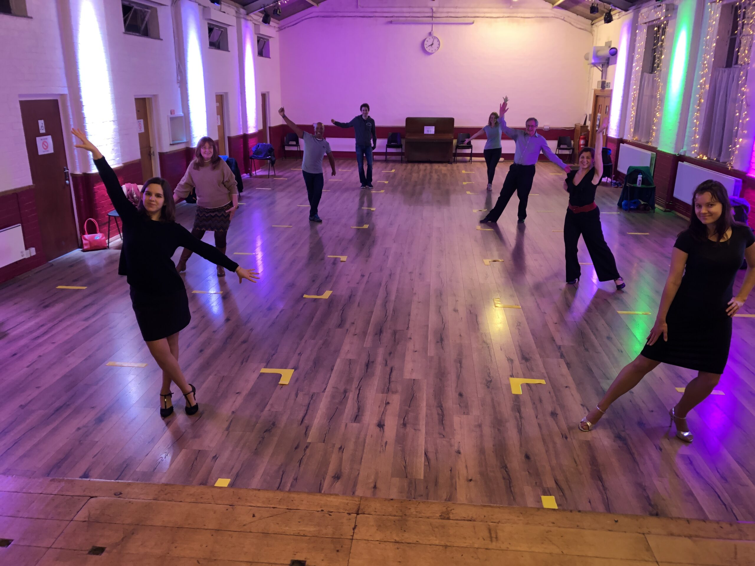 Tango solo dancers last class of 2020