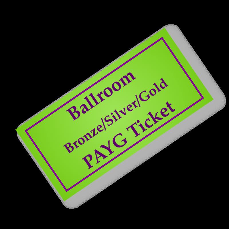 Ballroom BSG PAYG Ticket