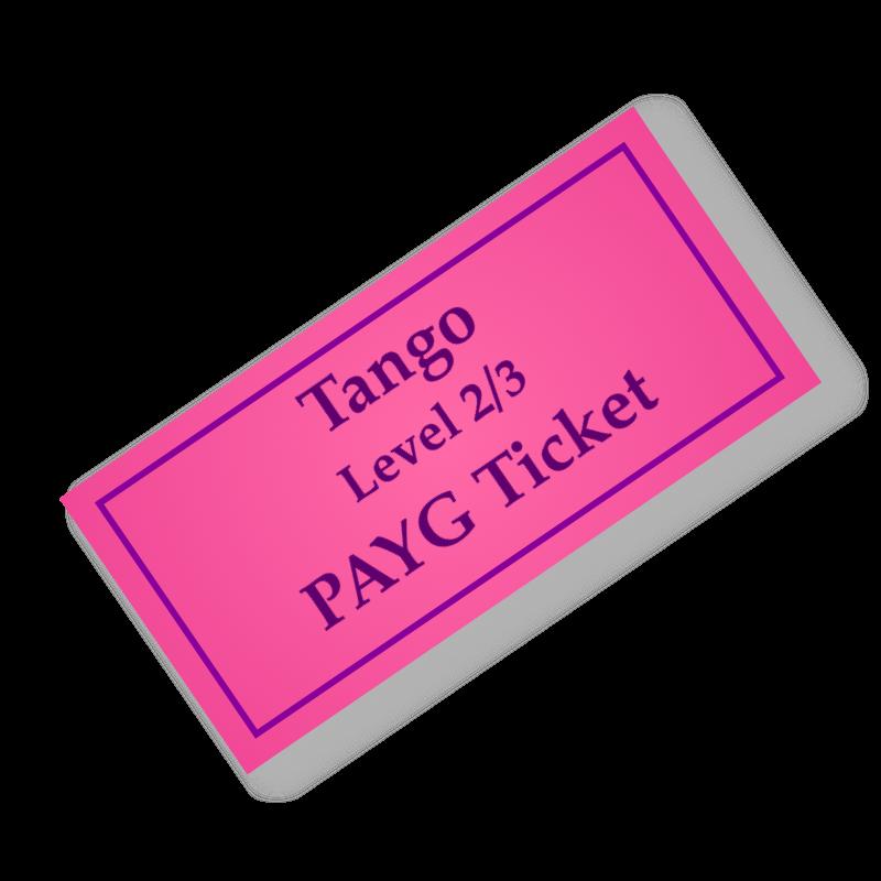 Tango PAYG Ticket