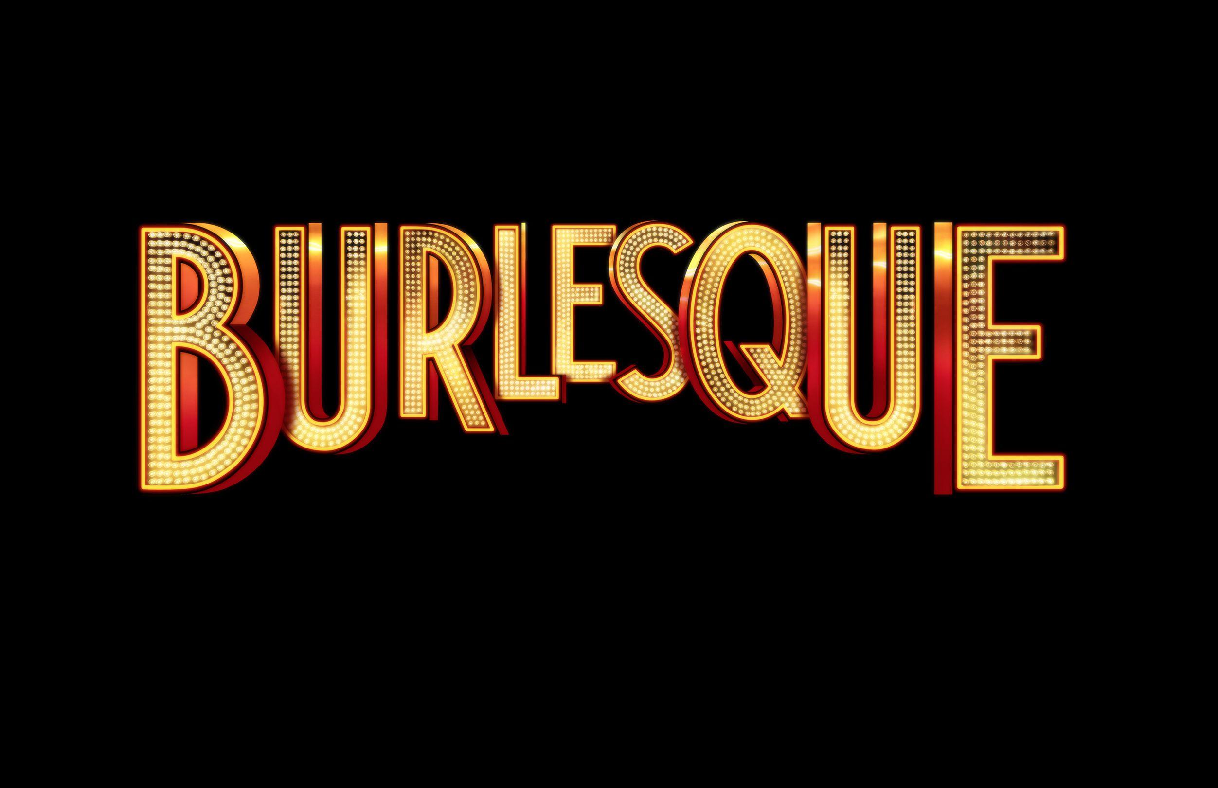 Burlesque wording logo